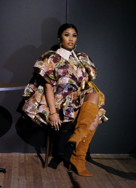 Nicki+Minaj+Marc+Jacobs+Fall+2020+Runway