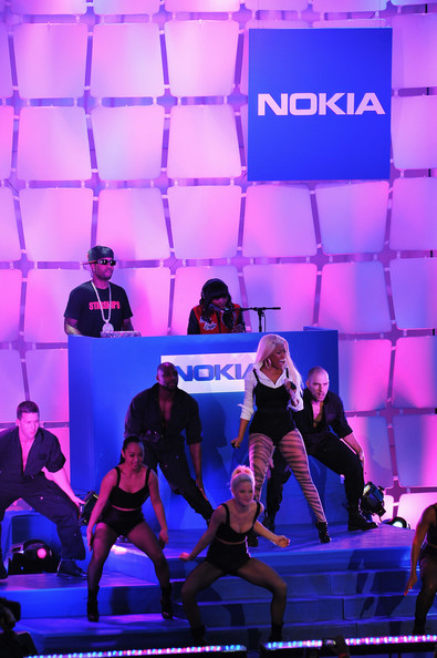 Nicki Minaj - Nokia Lumia 900 Launches In Times Square - Performance