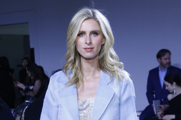 Nicky Hilton Rothschild Mark Gong - Front Row - February 2019 - New York Fashion Week: The Shows