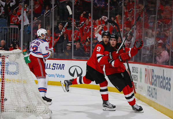 91395775528 Nico Hischier Photos Photos - New York Rangers v New Jersey Devils ...