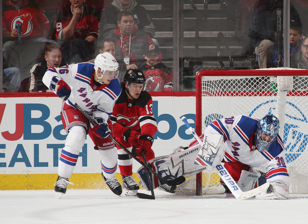 0c09764109b Nico Hischier Photos Photos - New York Rangers vs. New Jersey Devils ...