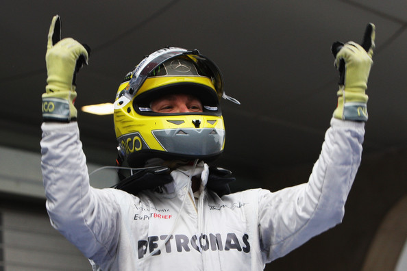 Nico Rosberg - F1 Grand Prix of China