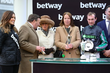 Nico de Boinville The Duchess Of Cornwall Attends The Cheltenham Festival