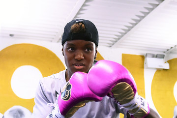 Nicola Adams Jack Catterall and Ohara Davies Media Workout