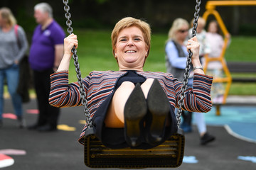Nicola Sturgeon Nicola Sturgeon Opens Play One Park For Differently-abled Children