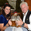 Nicola Tiggeler Celebrities Hang out at Oktoberfest 2015 - Day 1