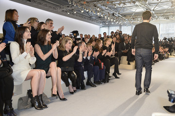Nicolas Ghesquiere Louis Vuitton : Front Row  - Paris Fashion Week Womenswear Fall/Winter 2014-2015
