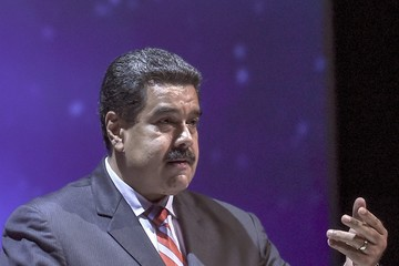Nicolas Maduro 23rd World Energy Congress in Istanbul