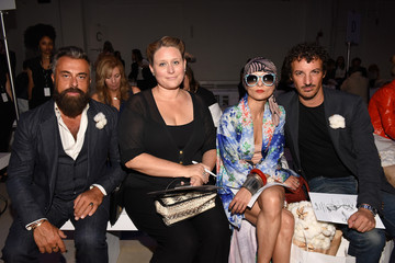 Nicolas Ouchenir Supima Design Competition - Front Row - Spring 2016 New York Fashion Week: The Shows