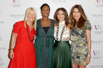 Nicole Avant Veronica Smiley Visionary Women Presents 'Cherie Blair In Conversation with Mary Hart'