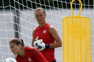 Nicole Barnhart USA Training Session - FIFA Women's World Cup 2011