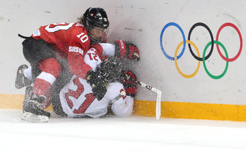 Nicole Bullo Ice Hockey - Winter Olympics Day 10