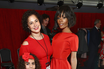 Nicole Green The American Heart Association's Go Red for Women Red Dress Collection 2018 Presented By Macy's - Backstage