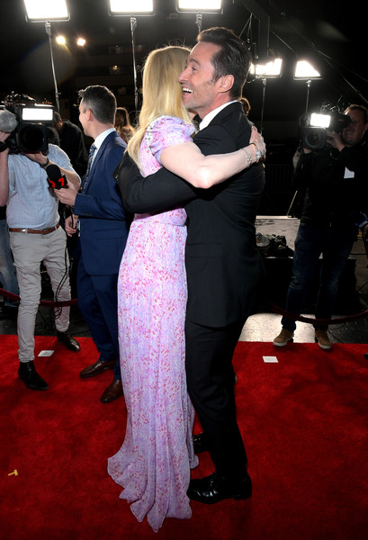 7th AACTA International Awards - Red Carpet [red carpet,red carpet,carpet,event,flooring,dress,fashion,dance,premiere,interaction,gown,nicole kidman,hugh jackman,avalon hollywood,california,los angeles,aacta international awards]