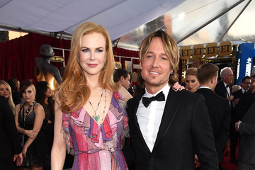 Nicole Kidman Keith Urban The 22nd Annual Screen Actors Guild Awards - Red Carpet