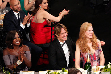 Nicole Kidman Keith Urban The 22nd Annual Screen Actors Guild Awards - Backstage and Audience