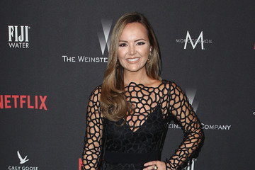 Nicole Lapin The Weinstein Company and Netflix Golden Globe Party, Presented With FIJI Water, Grey Goose Vodka, Lindt Chocolate, and Moroccanoil - Red Carpet