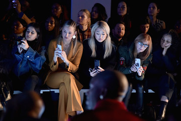 Nicole Miller Laquan Smith - Front Row - February 2018 - New York Fashion Week: The Shows
