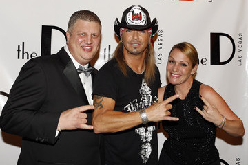 Nicole Parthum Bret Michaels Performs At The D Las Vegas To Celebrate Grand Opening