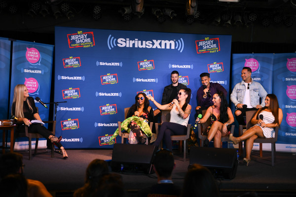 Jenny McCarthy's 'Inner Circle' Series On Her SiriusXM Show 'The Jenny McCarthy Show' With The Cast Of MTV's Jersey Shore Family Reunion Part 2