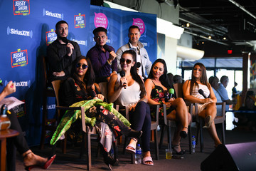 Nicole Polizzi Paul DelVecchio Jenny McCarthy's 'Inner Circle' Series On Her SiriusXM Show 'The Jenny McCarthy Show' With The Cast Of MTV's Jersey Shore Family Reunion Part 2