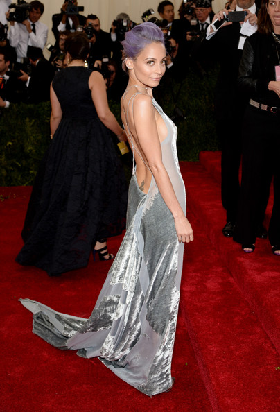 Red Carpet Arrivals at the Met Gala — Part 3 [fashion model,flooring,carpet,gown,fashion,dress,red carpet,shoulder,hairstyle,haute couture,charles james: beyond fashion gala arrivals,charles james: beyond fashion costume institute gala,new york city,metropolitan museum of art,nicole richie]