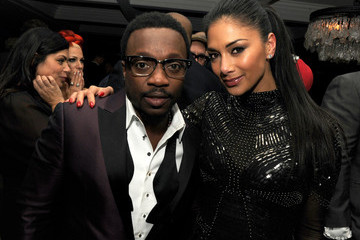 Nicole Scherzinger Anthony Hamilton Maroon 5 Grammy After Party & Adam Levine Fragrance Launch Event