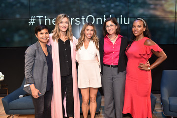 Nicole Stott Hulu's 'The First' New York Activation with Samsung
