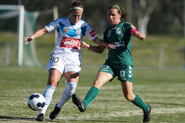 Nicole Sykes W-League Rd 3 - Canberra v Melbourne