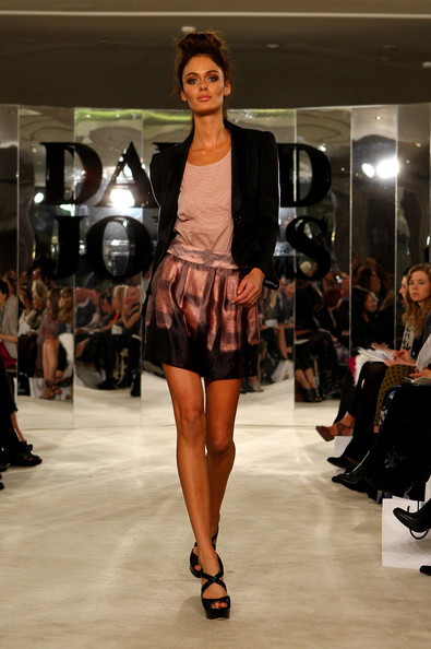 David Jones Spring/Summer 2010 Season Launch - Show & Front Row