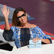 Nieves Alvarez Celebrity Excelsior Arrivals During The 77th Venice Film Festival - Day 3