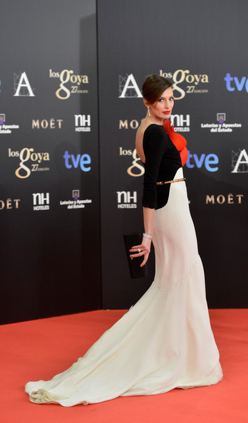 Nieves Alvarez - Goya Cinema Awards 2013 - Red Carpet