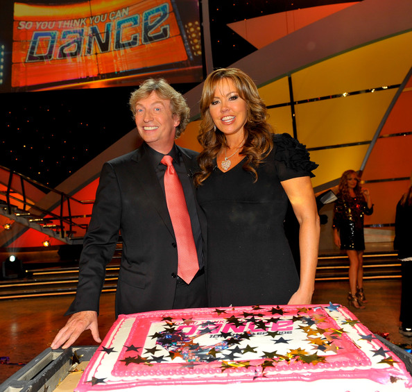 nigel lythgoe and lady gaga. nigel lythgoe dancing.