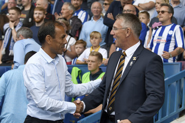 Nigel Adkins Sheffield Wednesday v Hull City - Sky Bet Championship