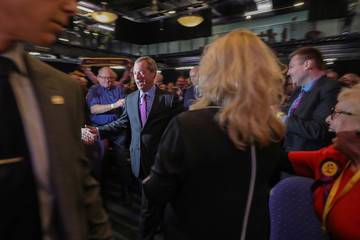 Nigel Farage UKIP Hold Their Spring Conference