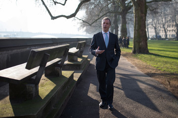 Nigel Farage Supreme Court Rules On Government's Brexit Appeal