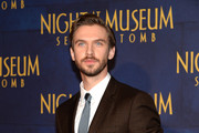 Actor Dan Stevens attends the 'Night At The Museum: Secret Of The Tomb' New York Premiere at Ziegfeld Theater on December 11, 2014 in New York City.