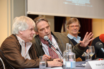 Jeremy Irons Bille August 'Night Train To Lisbon' Filming In Bern Starts