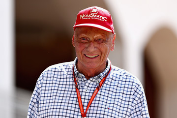 Niki Lauda F1 Grand Prix of Monaco - Previews