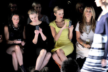 Niki Taylor MBFW: Front Row at Badgley Mischka