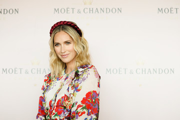 Nikki Phillips Celebrities Attend Moet & Chandon Spring Champion Stakes Day