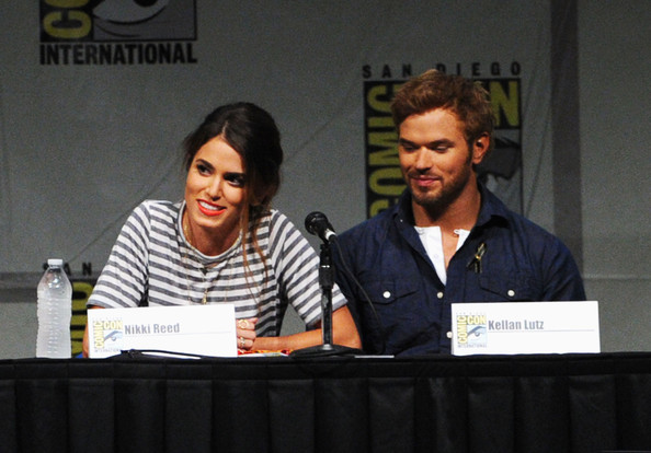 are kellan lutz and nikki reed dating Nikki reed and nina dobrev reunite to celebrate female achievements in hollywood twilight star kellan lutz is engaged by kelsie gibson 9/21/17 ashley greene.