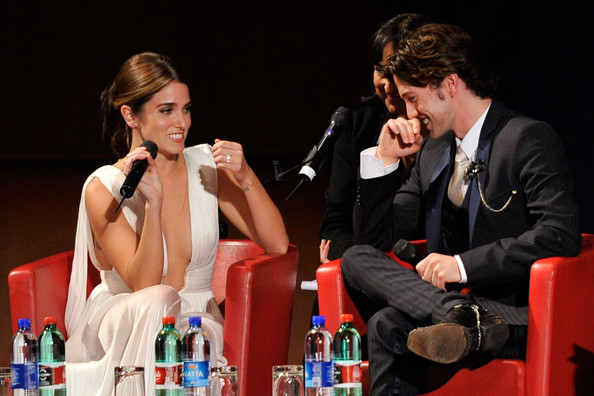 "Nikki Reed Actress Nikki Reed and actor Jackson Rathbone attend the ""The Twilight Saga: Breaking Dawn - Part 1"" Q&A during the 6th International Rome Film Festival on October 30, 2011 in Rome, Italy."