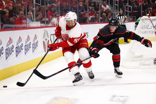 Carolina Hurricanes v Detroit Red Wings