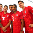 Niklas Suele FC Bayern Muenchen And Paulaner Photo Session