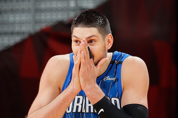 Nikola Vucevic Orlando Magic v Atlanta Hawks