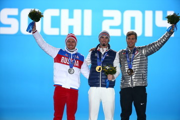 Nikolay Olyunin Winter Olympics: Medal Ceremonies