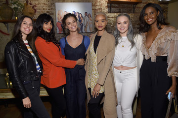 Nina Agdal Iskra Lawrence Aerie Celebrates #AerieREAL Role Models In NYC