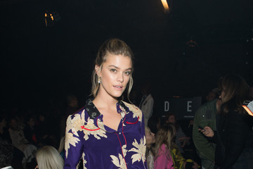 Nina Agdal Zadig & Voltaire - Front Row - February 2018 - New York Fashion Week