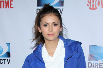 Nina Dobrev DirecTV Celebrity Beach Bowl - Arrivals